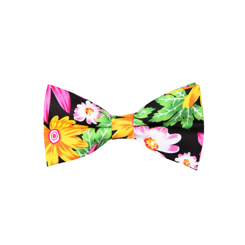 Pattern ABT15022 Tropical Flowers / Bow Tie