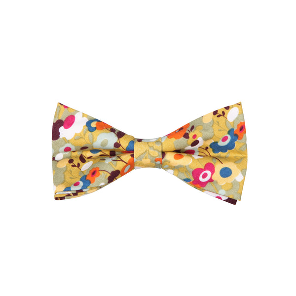 Pattern ABT15029 Yellow Orange / Bow Tie