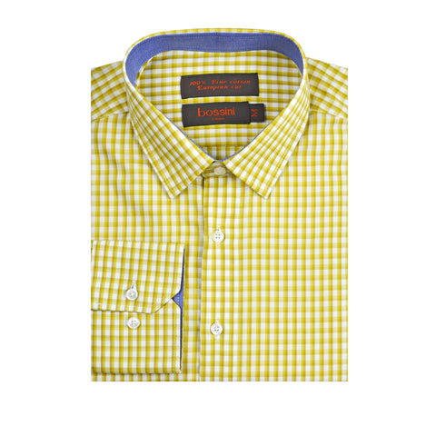 Casual Shirt BQC122 Yellow