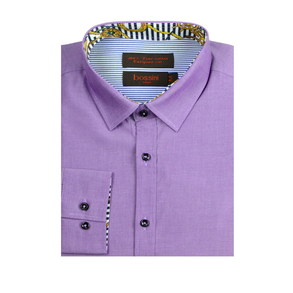 Casual Shirt BQC129 Purple