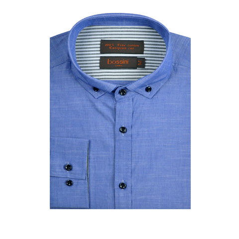 Casual Shirt BQC132 Blue