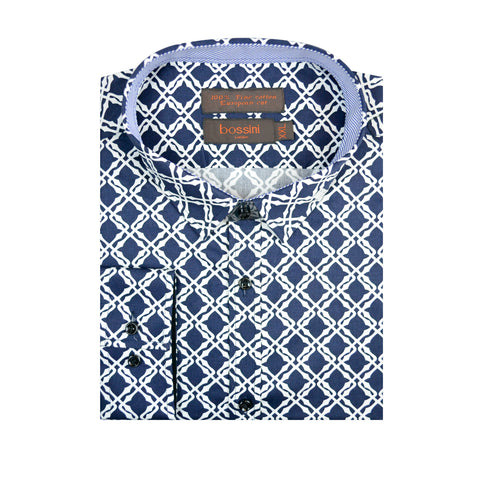 Casual Shirt BQC139 Navy