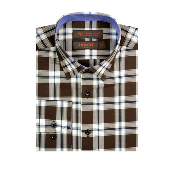 Casual Shirt BQC140 Coffee