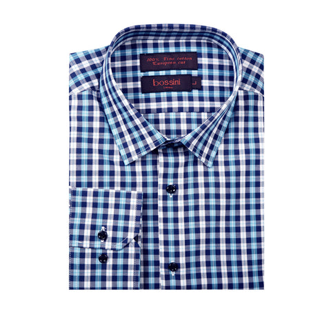 Casual Shirt BQC144 Blue