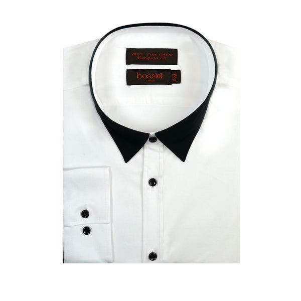 Casual Shirt BQC1501 White/Black