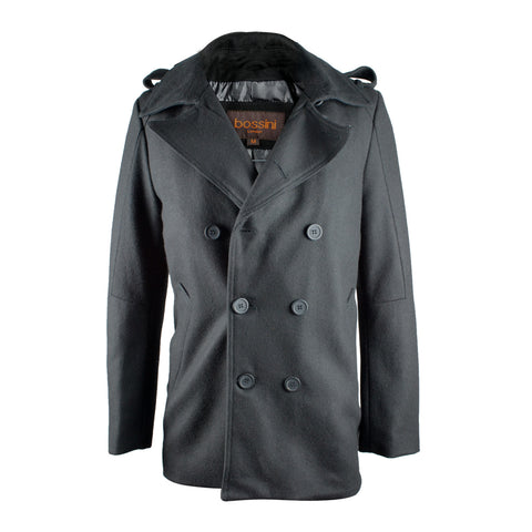 Overcoat BRO903 Black