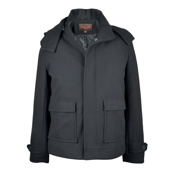 Overcoat BSJ014 Black