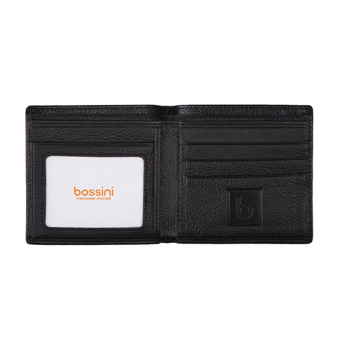 Bi-Fold Wallet Black Small