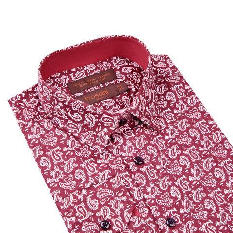 Casual Shirt CL1604 Red