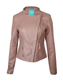 Women Jacket DG8062 Coffee