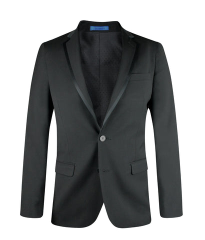 Suit EIS801 Black Tuxedo Slim Fit