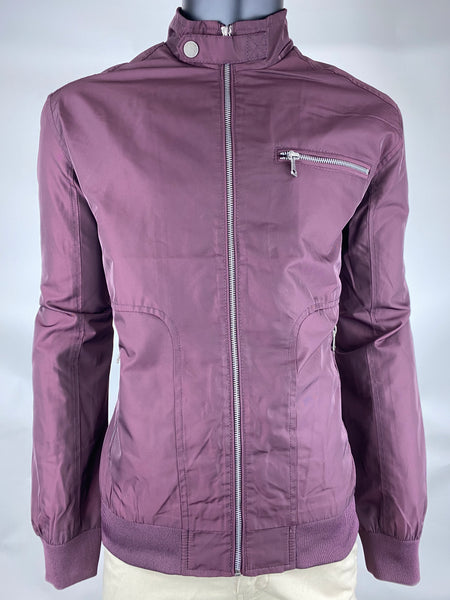 Bomber Jacket JS1906 Burgundy