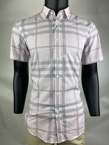Casual Shirt CS1903 Coffee Short Sleeves