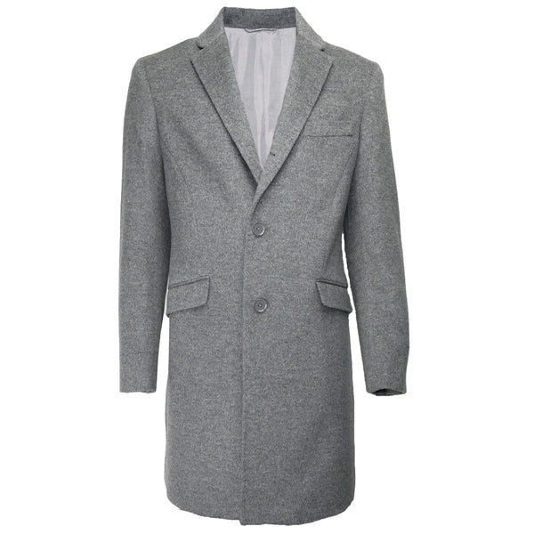 Wool Overcoat JW1903 Grey