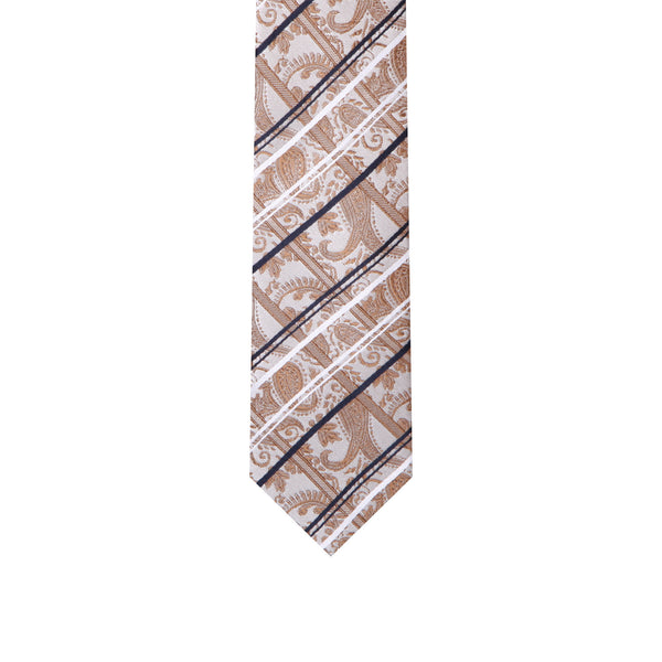 L0007 Brown Silk Tie