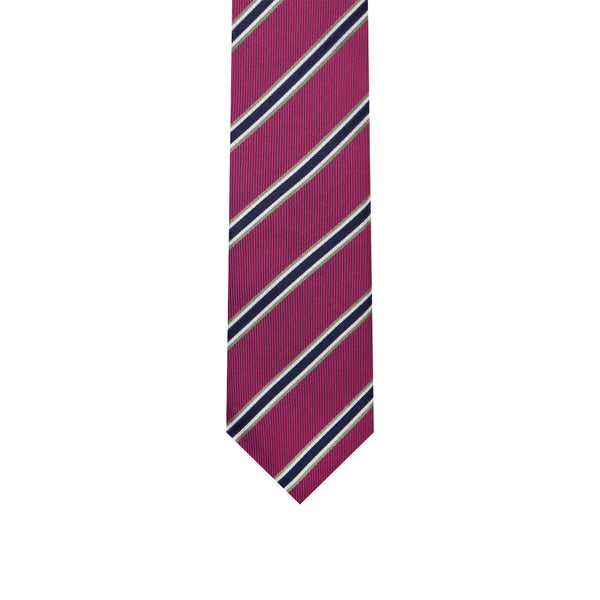 L0062 Purple Silk Tie