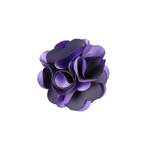 Lapel Pin - Marygold Black Purple