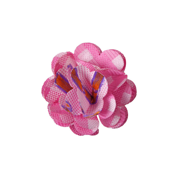 Lapel Pin - Marygold Pink Pattern