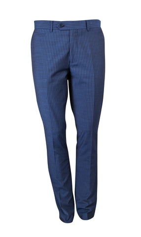 Suit NS1502 Blue Slim Fit