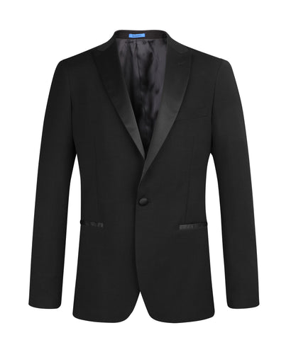 Suit NS1603 Black Tuxedo Slim Fit