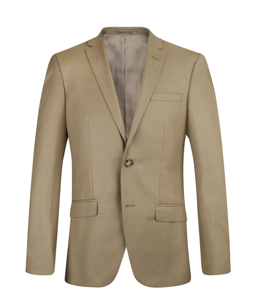 Suit SS1606 Light Beige Slim Fit (Wool)