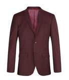 Suit SS1607 Burgundy Slim Fit (Wool)
