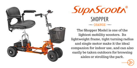 Supascoota Shopper Mobility Scooter