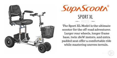 Supascoota Sport XL Mobility Scooter