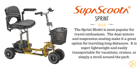 Supascoota Sprint Mobility Scooter