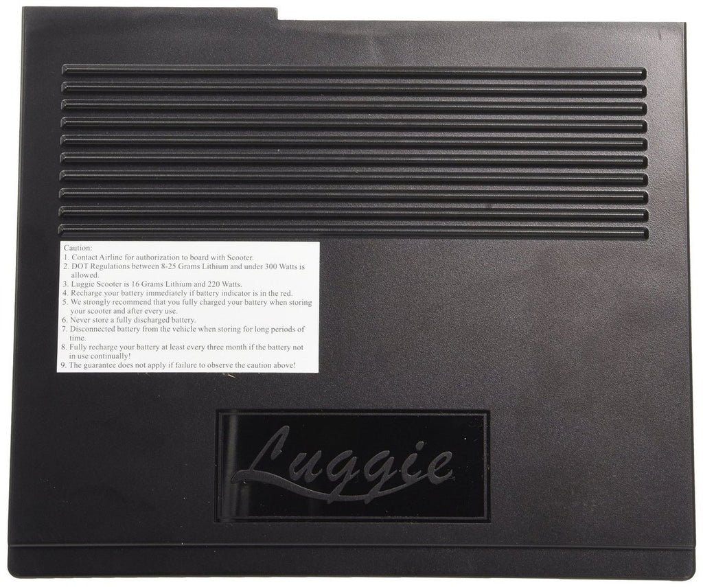 Luggie Lithium Battery - Standard 8.5 AH