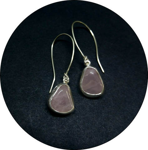 Crystal Pink Earrings