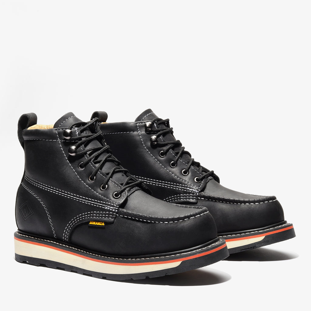 "6"" Dual Density Moc Toe Boot"