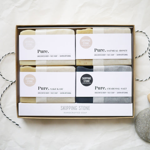 Pure. Unscented : Soap Gift Box