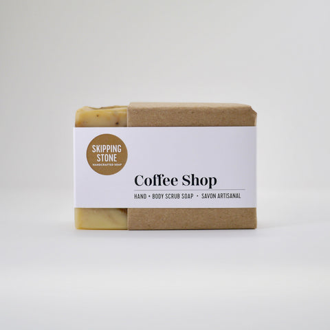 Coffee Shop : Hand + Body Scrub Soap