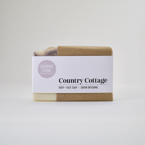 Country Cottage : Body + Face Soap