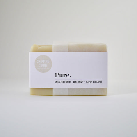 Pure. Body + Face Soap – unscented