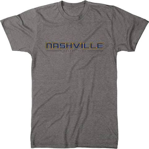 Nashville Hockey Club Men's Modern Fit Tri-Blend T-Shirt