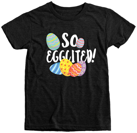 So Eggcited Kids Tr-Blend T-Shirt