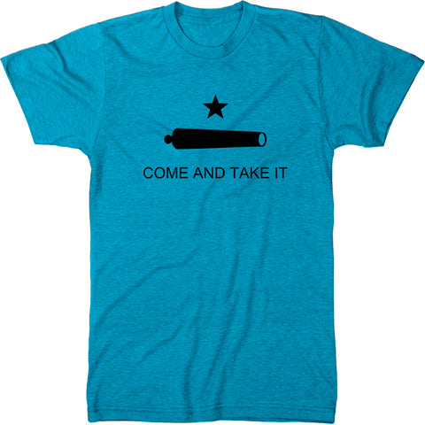 Come and Take It Texas Flag Men's Modern Fit Tri-Blend T-Shirt