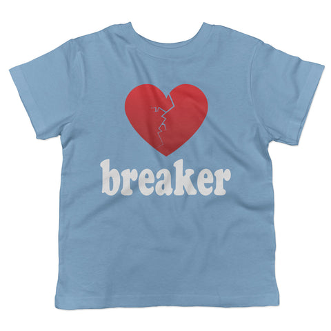 Heart Breaker Valentine's Day Toddler T-Shirt