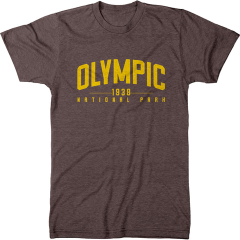Olympic National Park Mens Modern Fit Tri-Blend T-Shirt