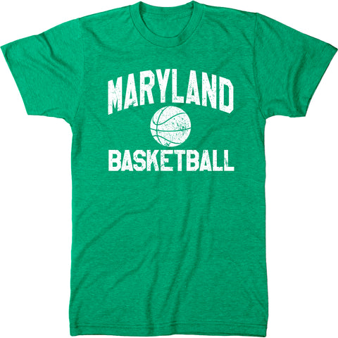 Maryland Basketball Men's Modern Fit T-Shirt
