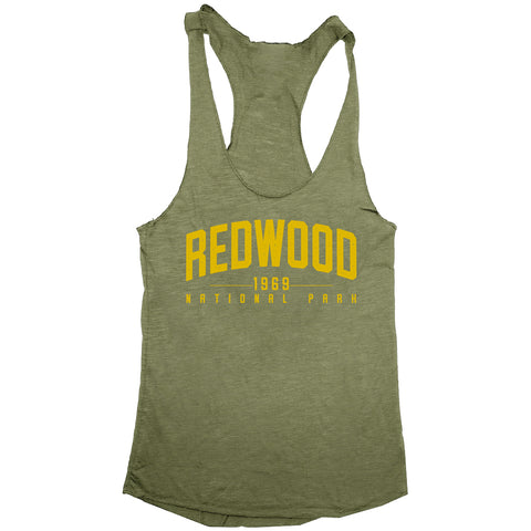 Redwood National Park Womens Tri-Blend Racerback Tank