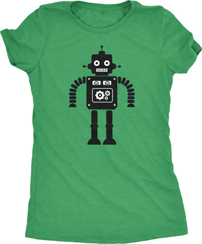Hello Mr. Roboto Womens Tri-blend T-shirt