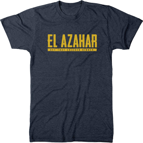 El Azahar Get That Chicken Dinner Men's Modern Fit T-Shirt