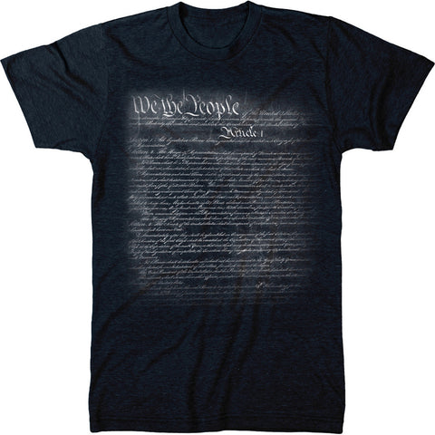 United States Constitution Mens Modern Fit Tri-blend T-Shirt