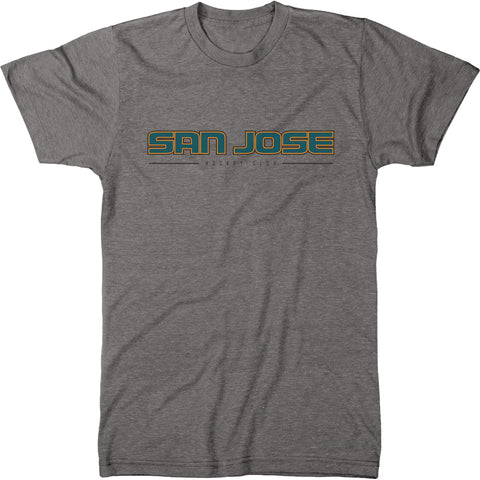 San Jose Hockey Club Men's Modern Fit Tri-Blend T-Shirt