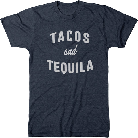 Tacos And Tequila Men's Modern Fit T-Shirt