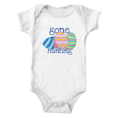 Gone Easter Egg Hunting Infant One Piece Bodysuit