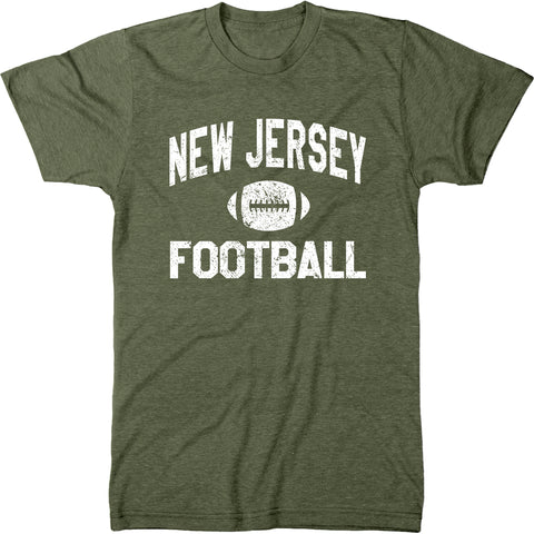 New Jersey Football Men's Modern Fit T-Shirt